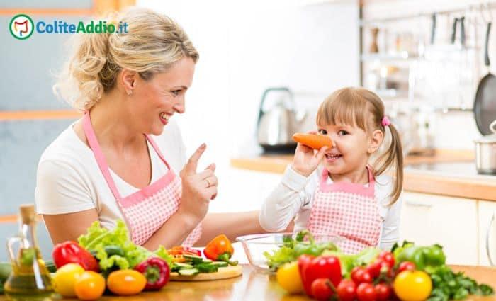 dieta per colite bambini