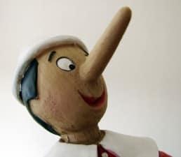 Pinocchio e la medicina dei bugiardini