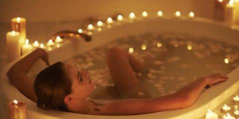 Bagno caldo contro lo stress