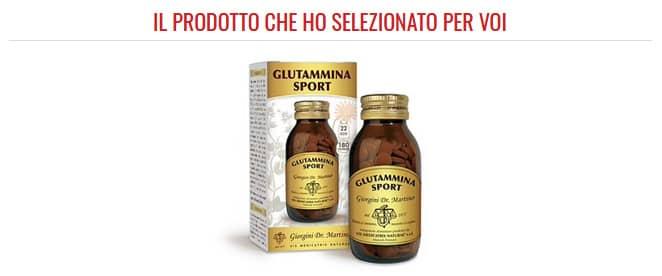 glutammina sport