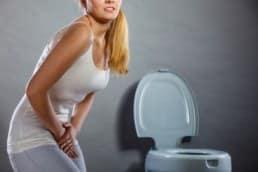 donna con diarrea