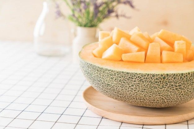 melone a tavola