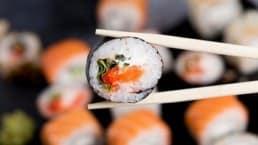 sushi e calorie