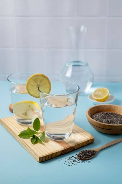 biccher d'acqua e limone